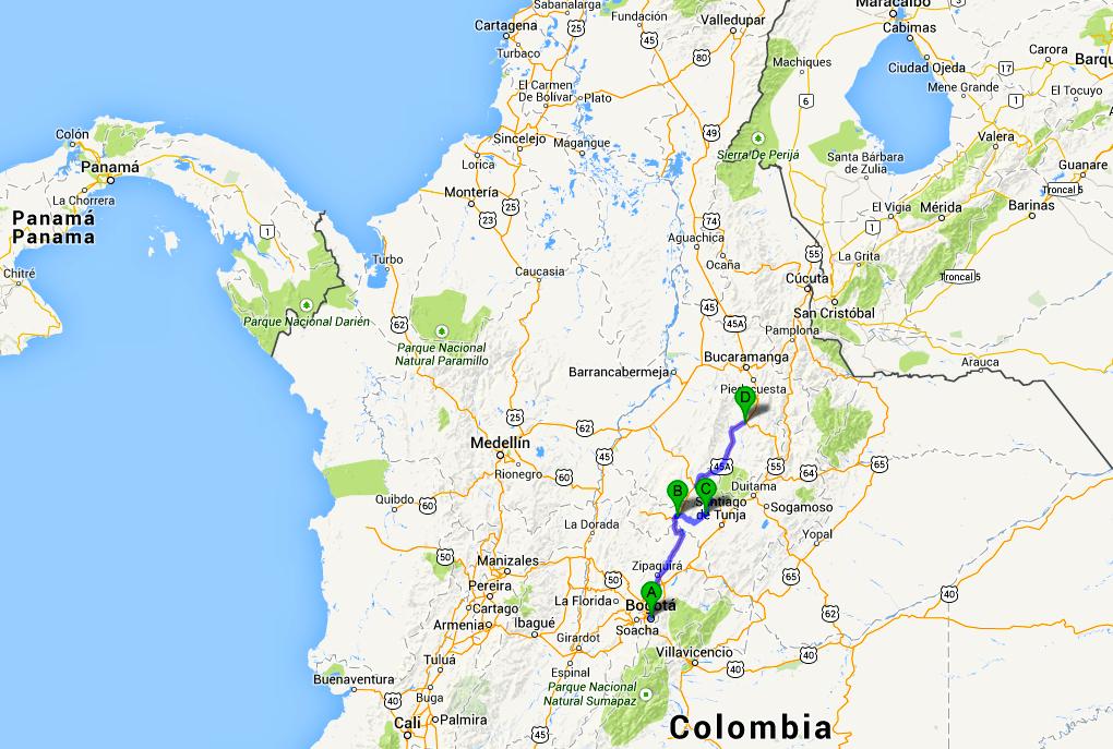 Itinerario di viaggio in Colombia, da Bogotà ai Caraibi, prima tappa