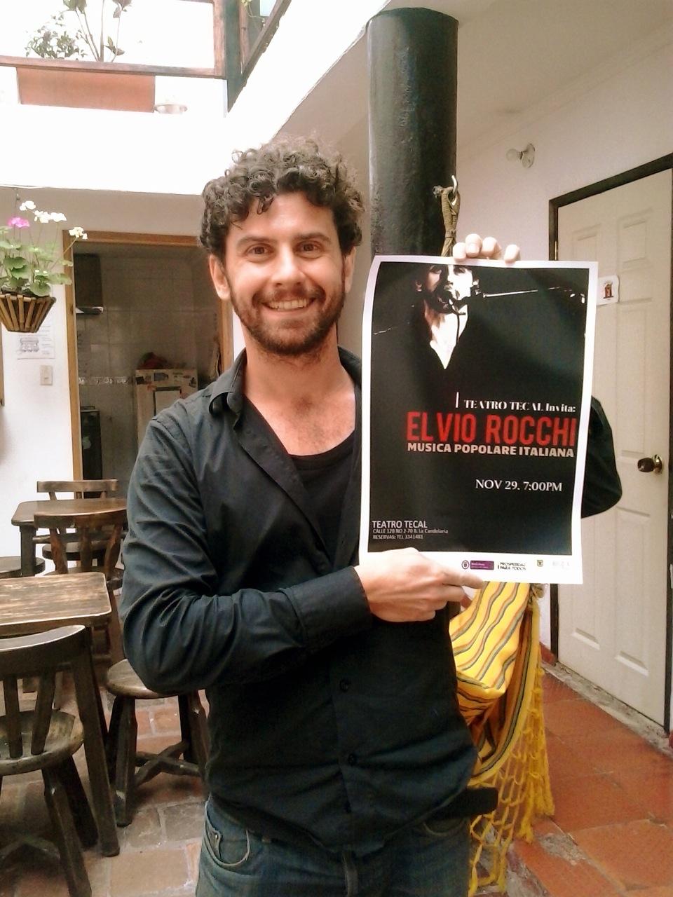 Elvio Rocchi concerto Bogotá