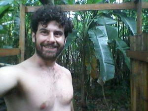 Doccia in mezzo ai banani, purificazione acqua, Permacultura