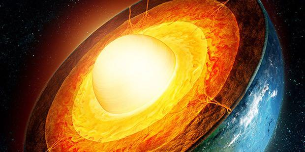 temperatura nucleo terrestre