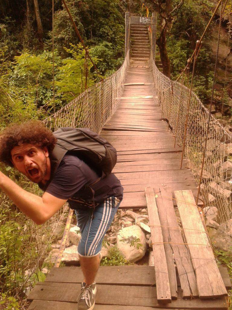 ponte sospeso, a Villeta, Colombia