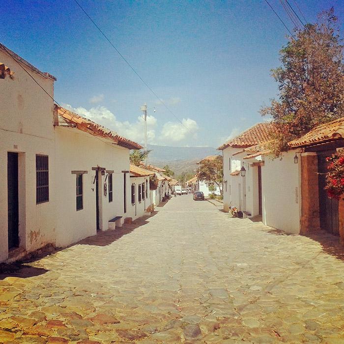 Foto dalla Colombia, sud America, Villa de Leyva, paese coloniale