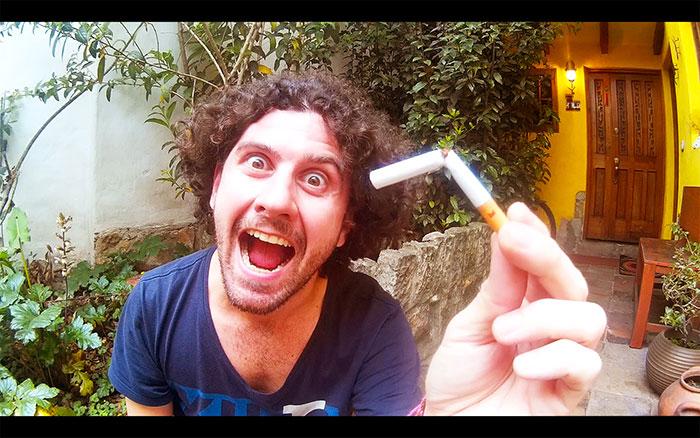 ho smesso di fumare