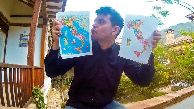 Amare L'italia, dopo essere stati all'estero rientrare in Italia