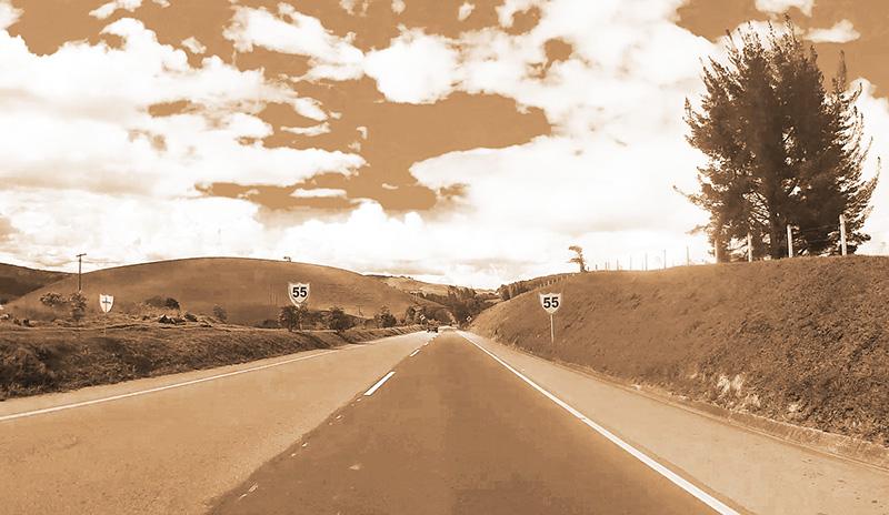 il cielo in autostrada bogota colombia