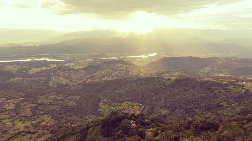 il meraviglioso paesaggio della Piedra Cabira, Mirador, Colombia