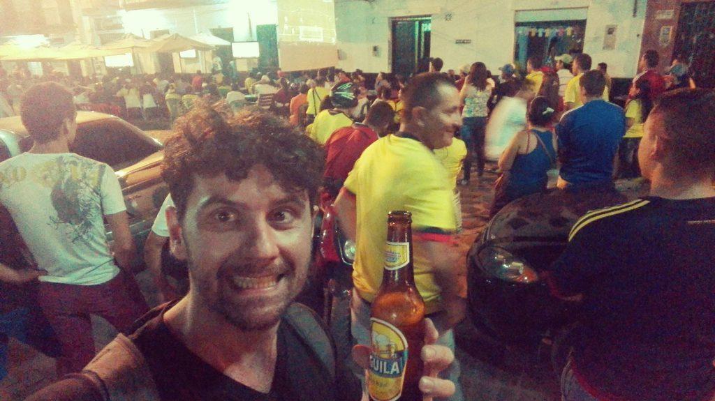 La passione dei colombiani per il calcio