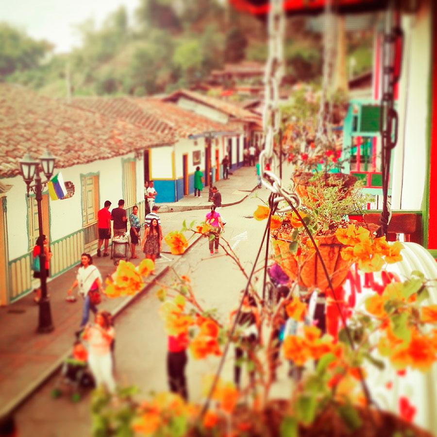 Salento, Colombia, valle del caffè