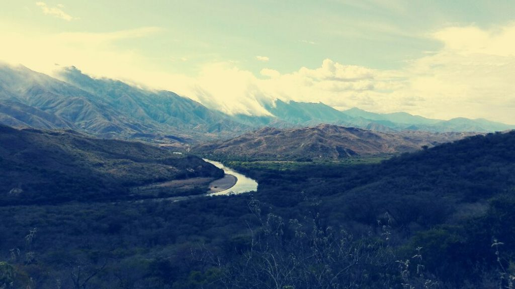 foto del viaggio in moto in Colombia