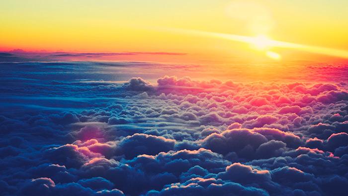 sole sopra le nuvole, post dedicato al caso che non esiste