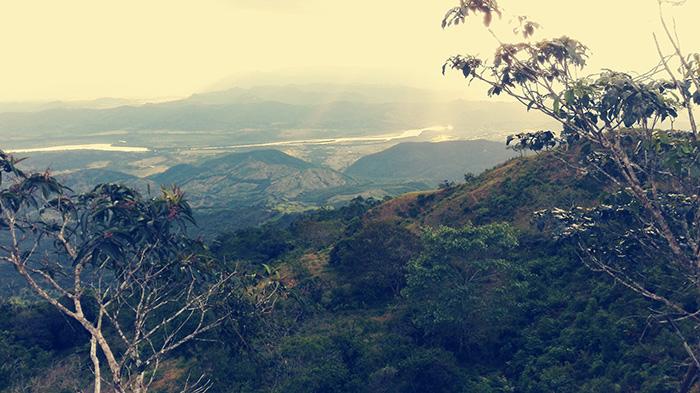 panorama in Colombia, post sul trovare se stessi