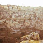 Sassi di matera vista dal Parco della Murgia