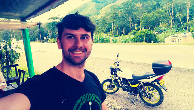 viaggiare in Colombia in moto