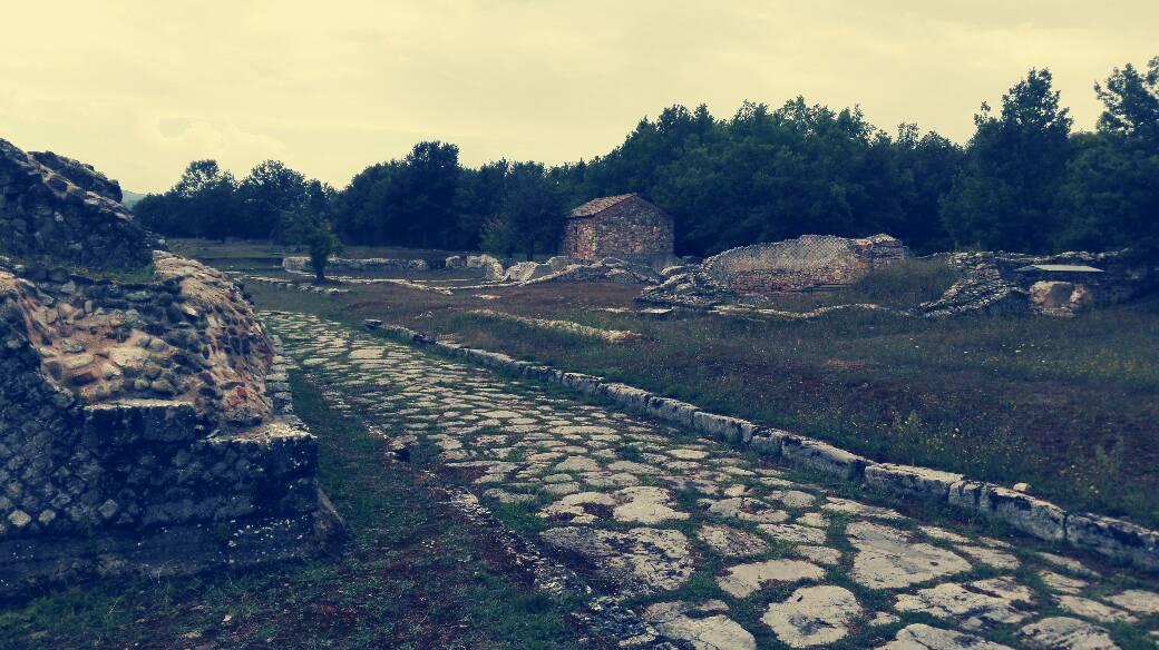 grumentum zona archeologica