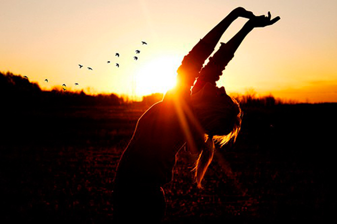 meditare con la gioia