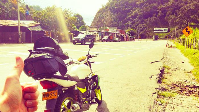 viaggiare in moto in sud america