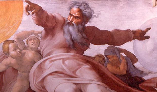 dio cattivo che punisce