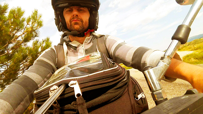 viaggio in moto, sud Italia