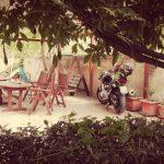 Giardino B&B Casa Retez (con Maria)