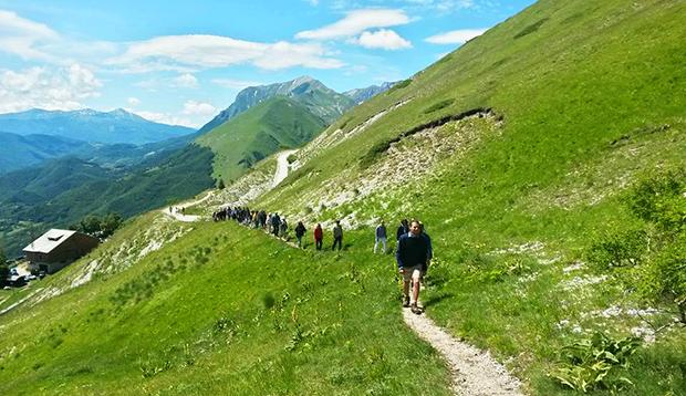 meditazione camminata, con Andrea Zurlini