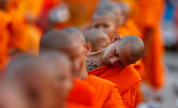 monaco che dorme