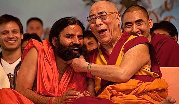 gli scherzi del Dalai Lama