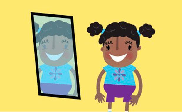 riconoscere lo specchio