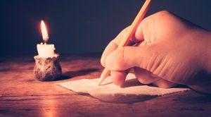 rituale di scrittura