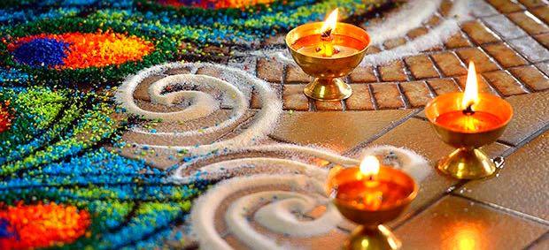 abbellire il luogo in cui si medita
