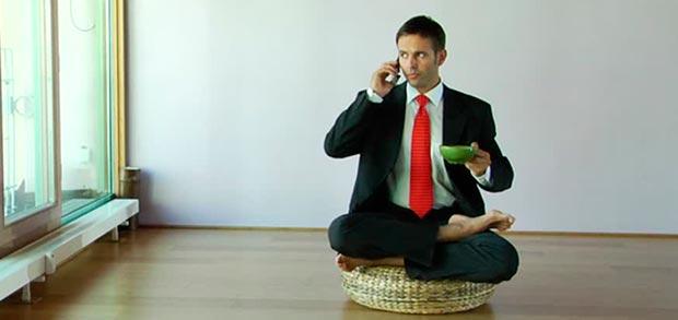 spegnere il cellulare durante la meditazione