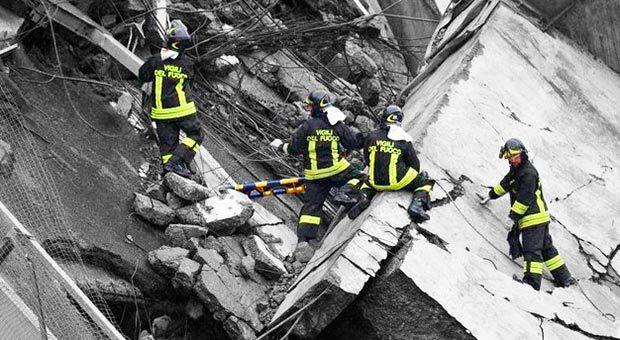 significato simbolico crollo di un ponte