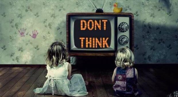 telegiornali e lavaggio del cervello