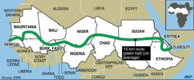 grande muro verde africano