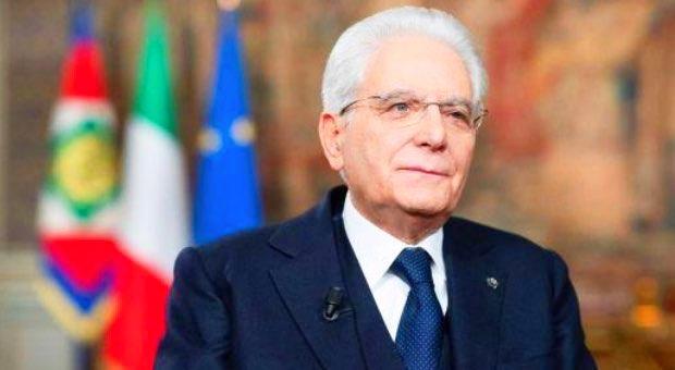discorso di capodanno presidente Mattarella